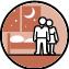 Der Partner/die Partnerin der BewohnerInnen dürfen in der Wohneinrichtung im selben Zimmer übernachten.