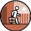 Die BewohnerInnen dürfen in der Wohneinrichtung wohnen und bei einem anderen Träger/anderer Firma arbeiten.