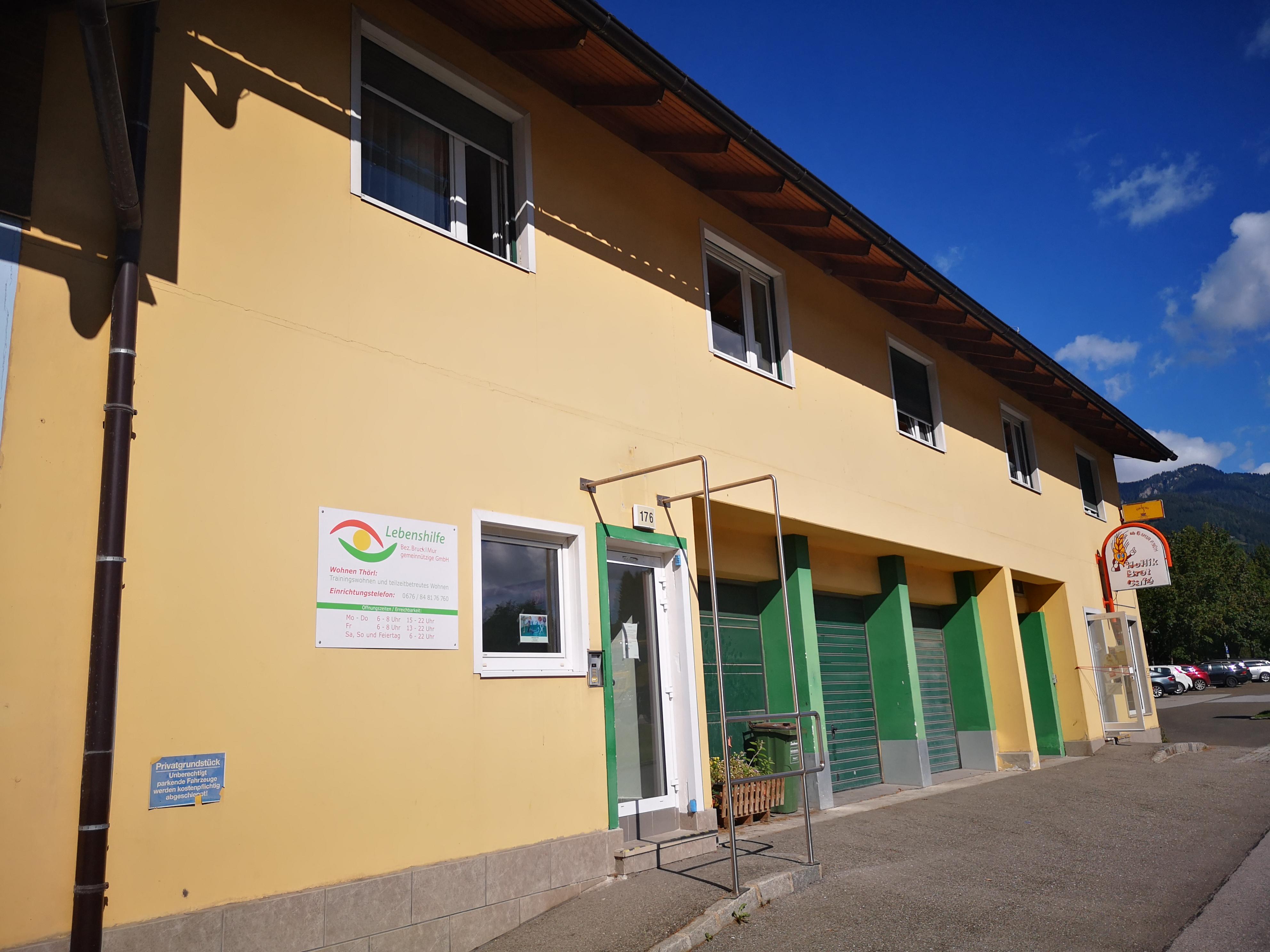 Lebenshilfe Bruck Wohnhaus Thörl Teilzeit und Trainingswohnen, Palbersdorf 176, 8621, Austria