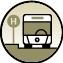 Die folgenden Dinge sind mit öffentlichen Verkehrmitteln erreichbar